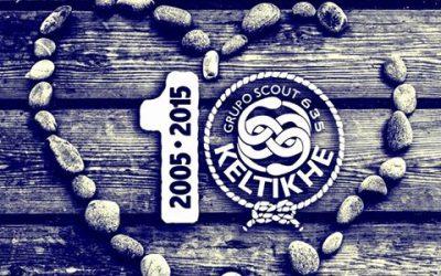 El Grupo Scout Keltikhé cumple una década
