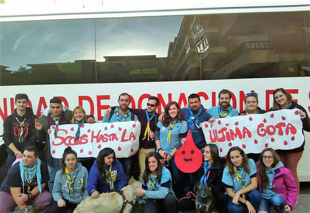 Donación de Sangre #ScoutAsturDONAN